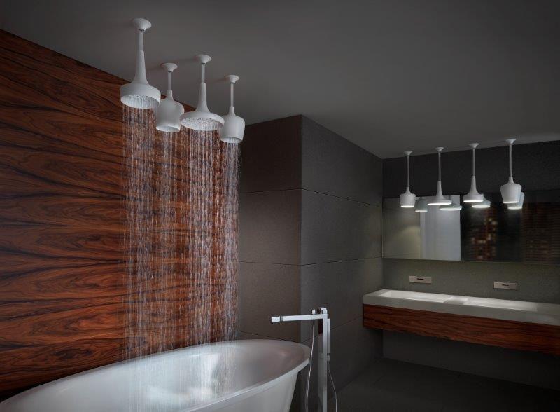 Box doccia e vasche ecoseledil - Soffione doccia soffitto ...