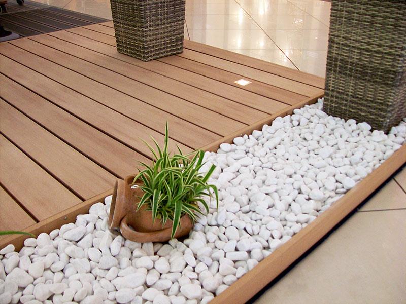 Ecoseledil la rivoluzione dell 39 esterno il pavimento in wpc - Pavimentare terrazzo esterno ...